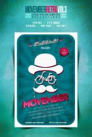 Movember Retro Flyer Vol.3 by another-graphic