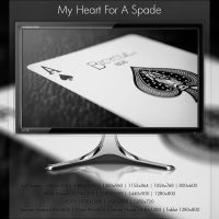 My Heart For A Spade by SevenPhotoDFW