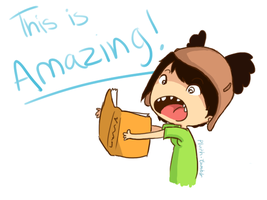 Know what's amazing? Books! by InuGurl107