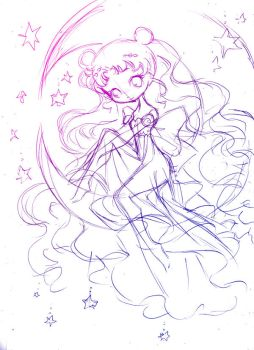 princess of the moon... idea draft by sureya