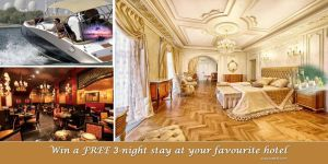 Win a 3 Night Stay at Your Favourite Hotel. by UAETOP10