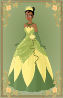 Tiana { Green Dress } by kawaiibrit