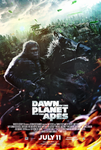Dawn of The Planet of The Apes (2014) - Poster by CAMW1N