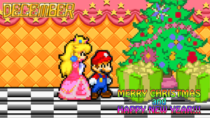 December - The Christmas of Mushroom Kingdom by KingAsylus91