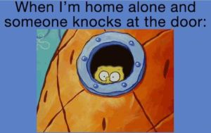 Being home alone is creepy... by Femke567