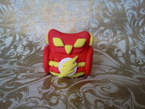 The Flash Owl Figure by TheOwlsRoost