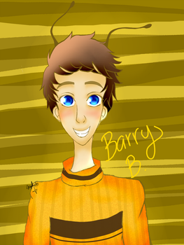 Barry from BEE MOVIE by meganekoveronica