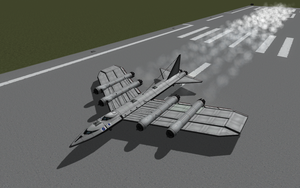 KSP - Bombastic Bomb Dropping Flying Contraption by Shroomworks