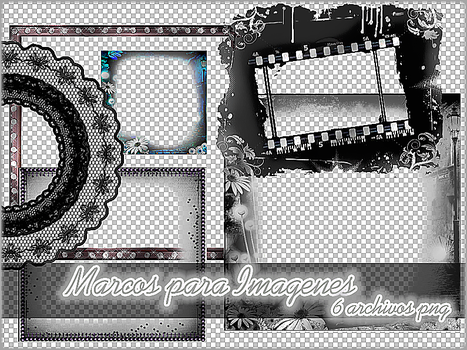 Marcos para Imagenes by Thoxiic-Editions