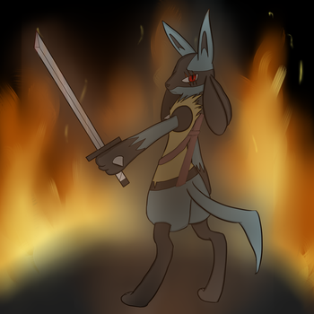 Into the flame by xEnderQueenx