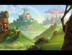 Nuts and castles by Javas
