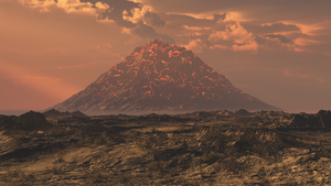 Mount Doom by mikeinjapan
