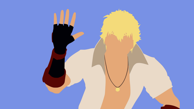 Sun Wukong Minimalist Wallpaper by DamionMauville