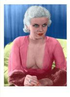 Jean Harlow Colorized 30 by ajax1946