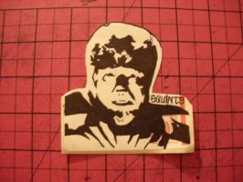 Wolfman Stickie by MissFord66