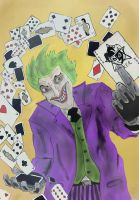 the joker - digital paint by andy15140