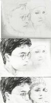 Harry Potter WIPs by michaelmdw