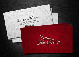 Design de Sobrancelha Business Card by tutom