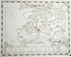 Border Kingdom's Map by MIHO24