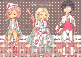 White Rose Legion Auction Adoptables : { CLOSED } by WanyaaGoAdopts
