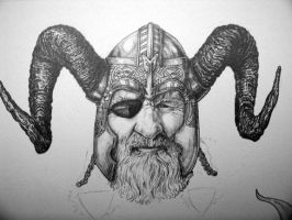 Thor Collage presents Odin by Meador