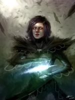 Raven Witch by MakingPicsSlowly
