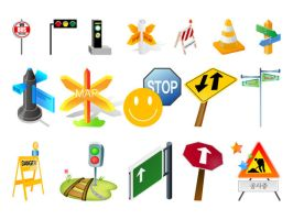 Free Vector Road icons by FreeIconsdownload