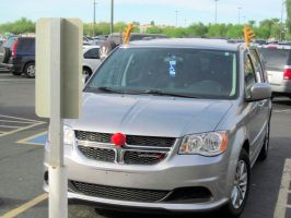 Rudolph the Red-Nosed Dodge Journey by BigMac1212