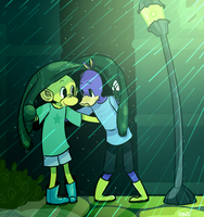 Rainy Days by Papercut-Cranes
