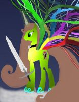 Make New Oc Ider new wings and new sword work 2 by daylover1313