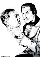 VINCENT PRICE by GORMANDRA