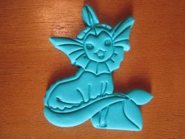 Vaporeon Cookie Cutter by B2Squared