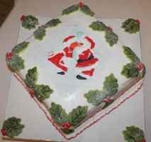 christmas cake 2009 by mannafig