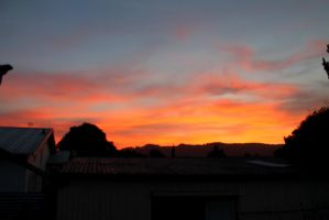 Skies on Fire by hinachanz
