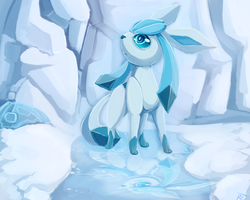 Glaceon by RatTalons