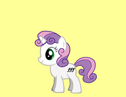 Sweetie Belle's Cutie mark by katsuneottsel