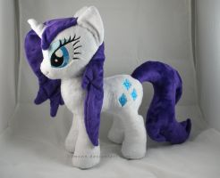 Wet Mane Rarity Plush by LiLMoon