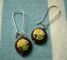 Fruity Earrings by vesssper