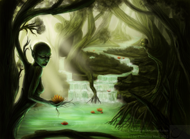 Dryad's Forest by CAHess