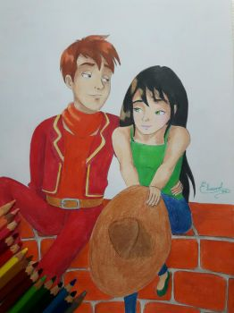 Panchito and Y/N by Elveariel