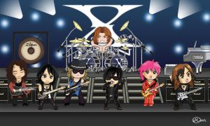 Chibi X JAPAN Concert by maluchan