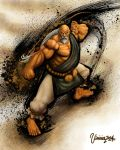 Gouken Ultra Street Fighter IV. by viniciusmt2007