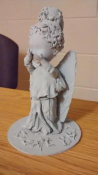 Baby Weeping Angel by KittensDemise
