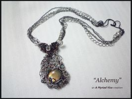 Alchemy necklace by AMyriadVice