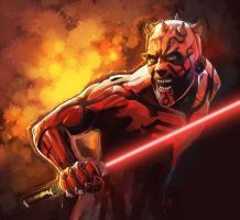 Darth maul by purplewurks
