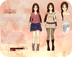 OC Mia Reference by KuroCyou