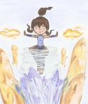 Avatar Korra: Master of all four elements by ChibiJirachi