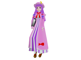 MMD Patchouli Pose by GalaxyGuild