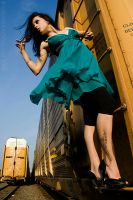 Train Tracks Fashion 3 by The-Ka