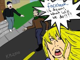 When facebook goes down by clarinetplayer